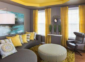 رنگ آمیزی متفاوت برای منزل و سقف اتاق شما